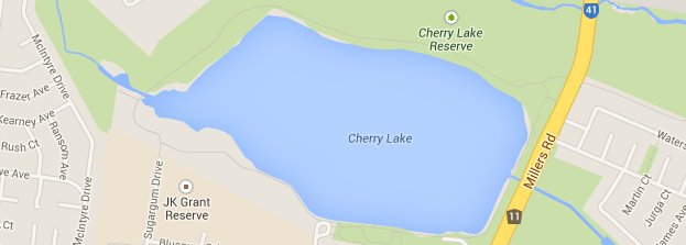 Gradient fills on water bodies in Google maps